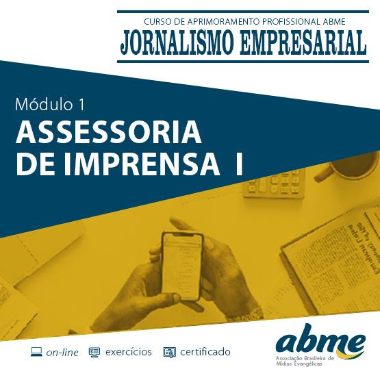 TESTE Jornalismo Empresarial - Módulo 1 - Assessoria de Imprensa I
